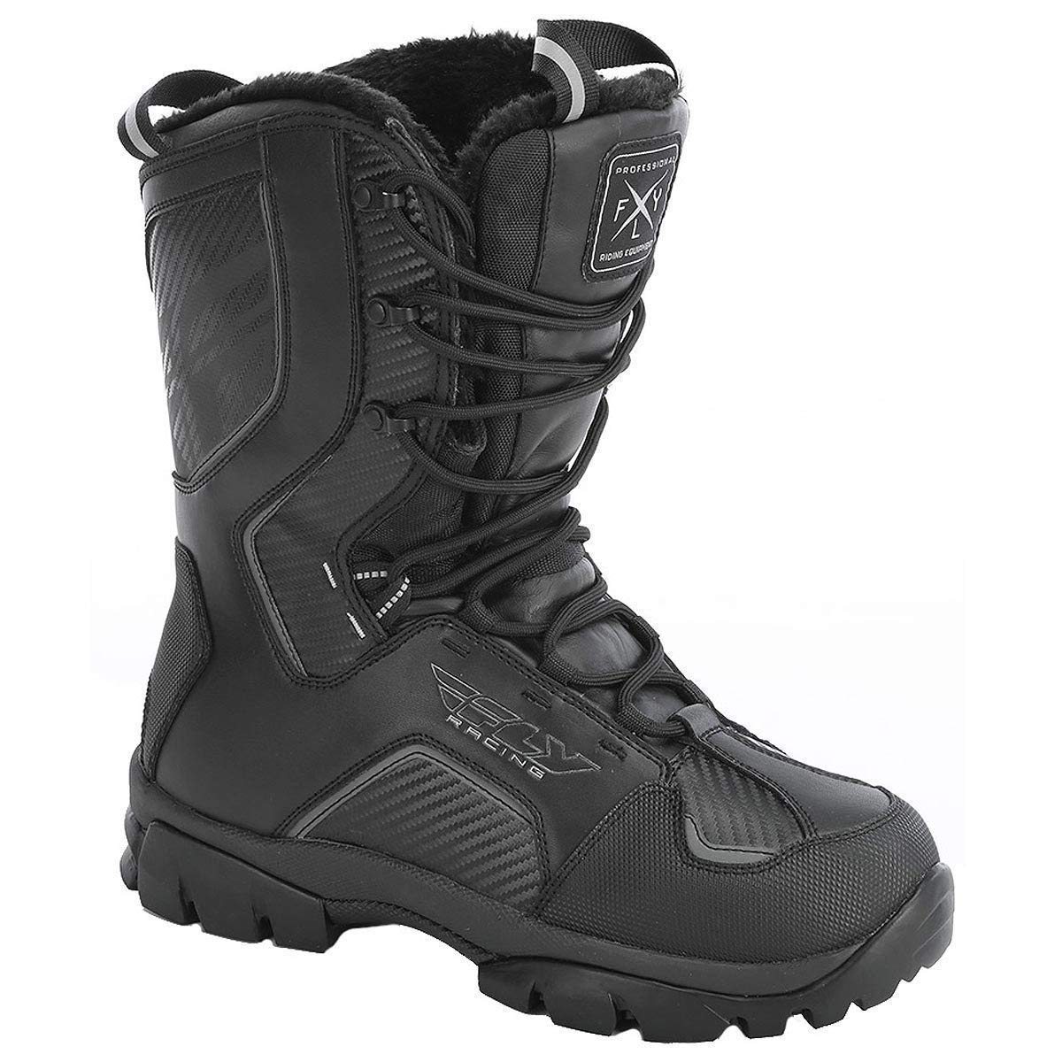 Fly Snow Marker Men's Black Snowmobile Boots