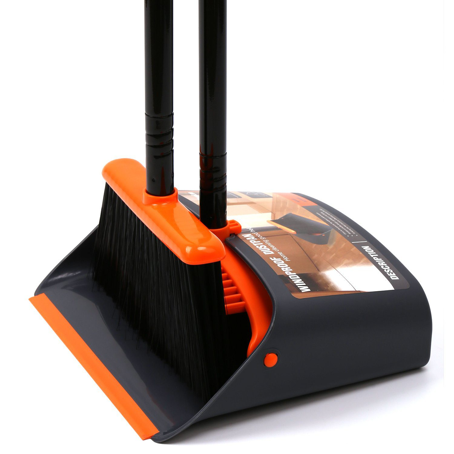 Dust Pan and Broom/Dustpan Cleans Broom Combo | Best Brooms