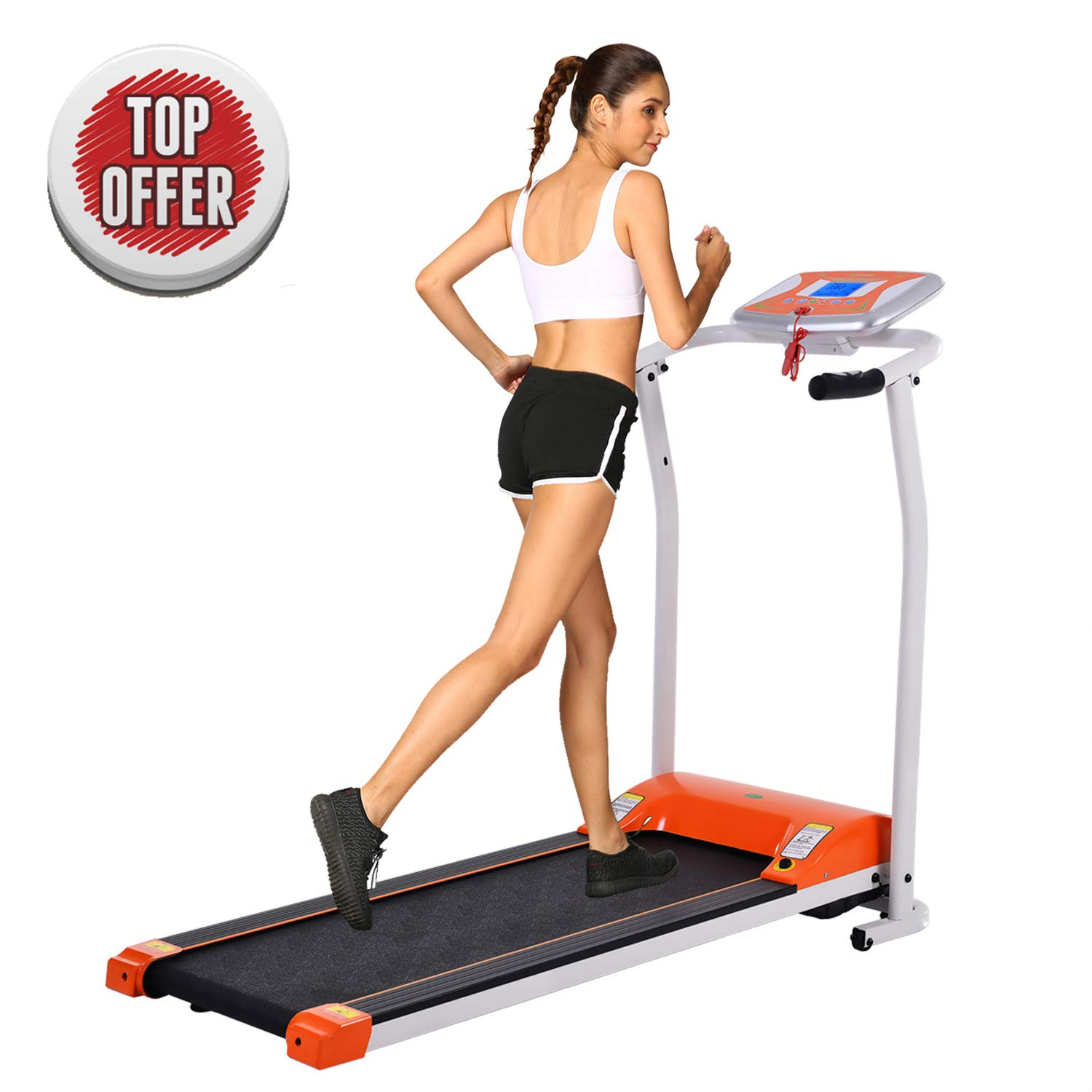 ncient Folding Electric Treadmill Running Machine Power Motorized