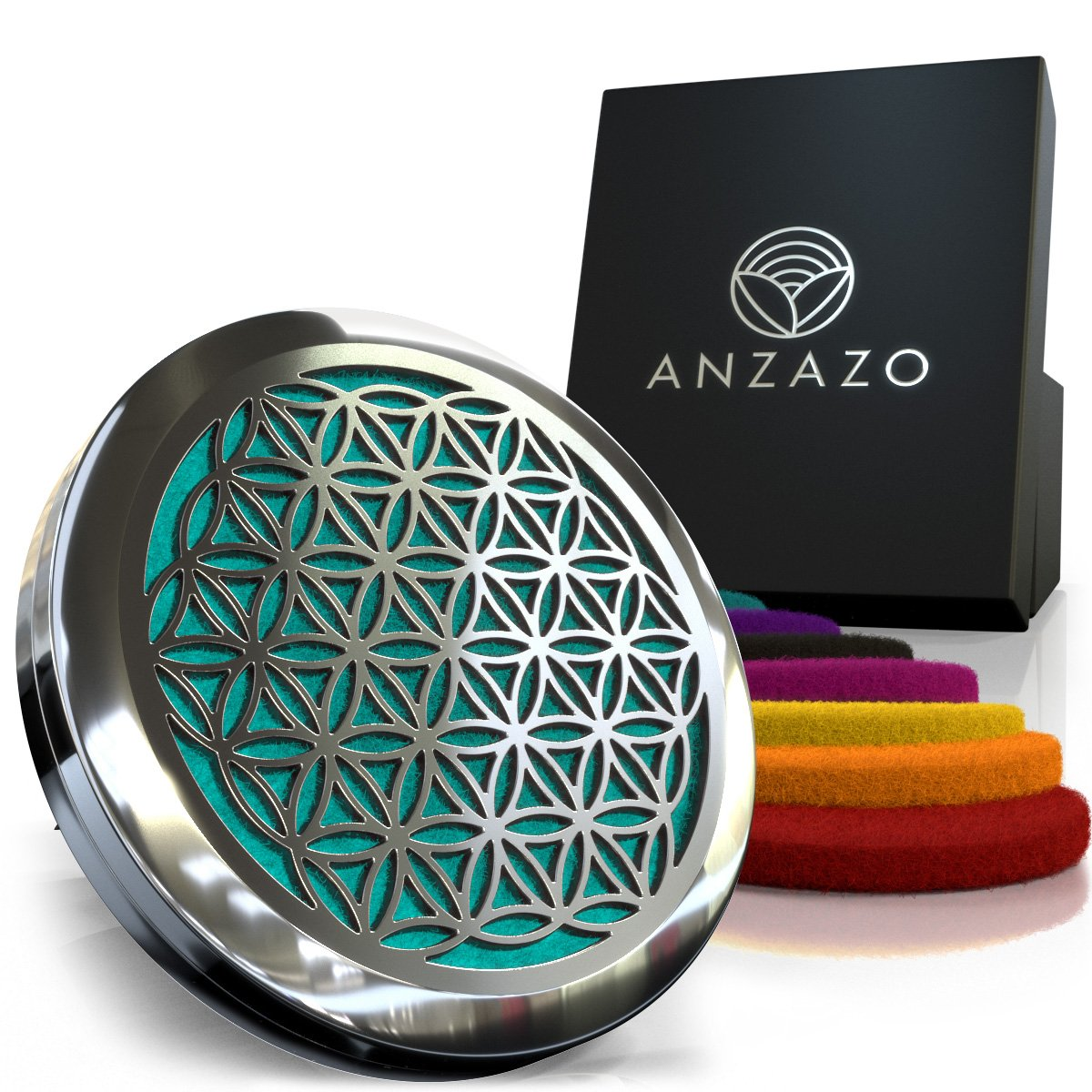 Anzazo Car Essential Oil Diffuser  | Best Car Scents