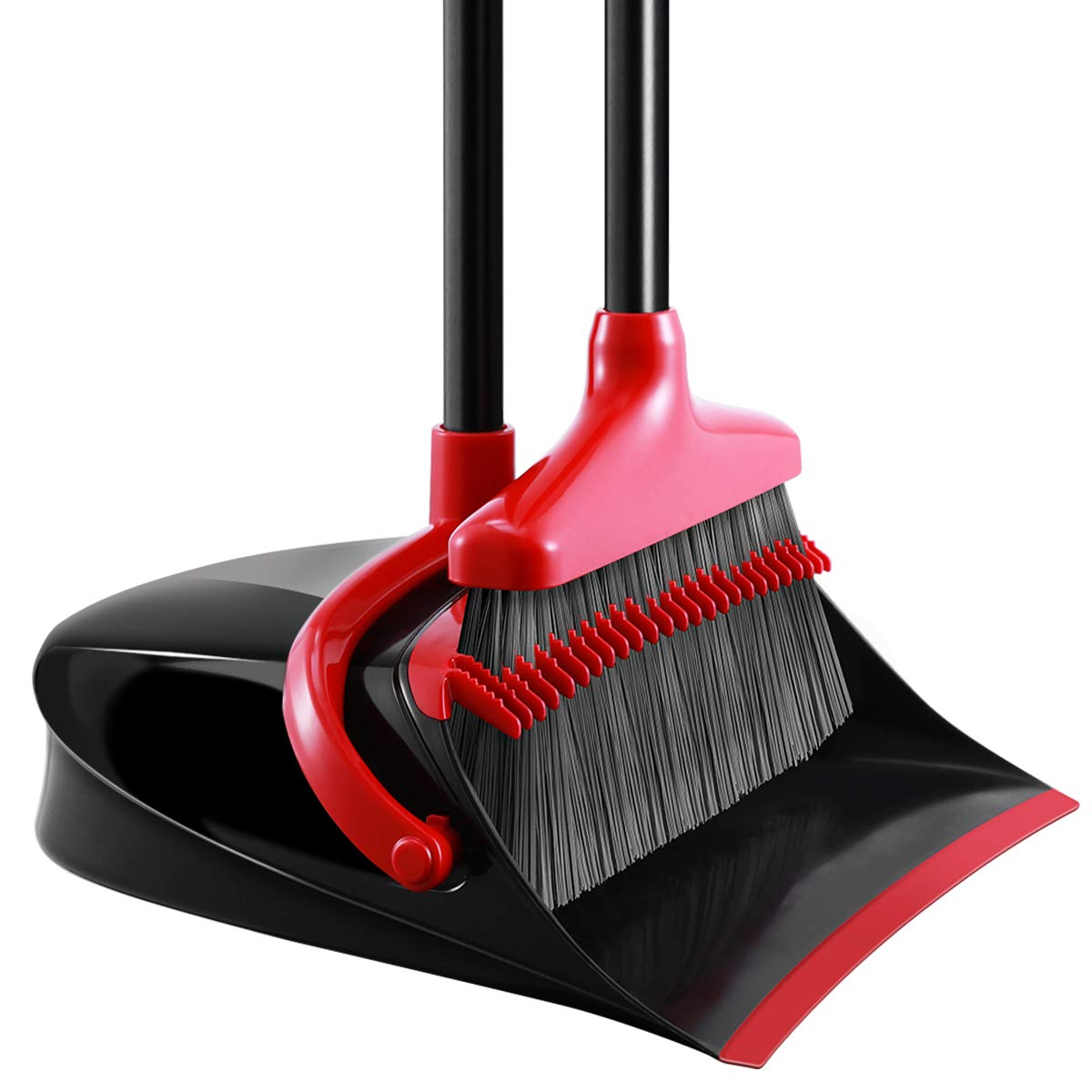 Homemaxs [Newest 2020] Broom and Dustpan Set | Best Brooms