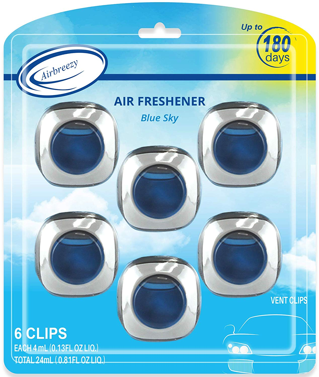 Airbreezy Car Air Freshener | Best Car Scents