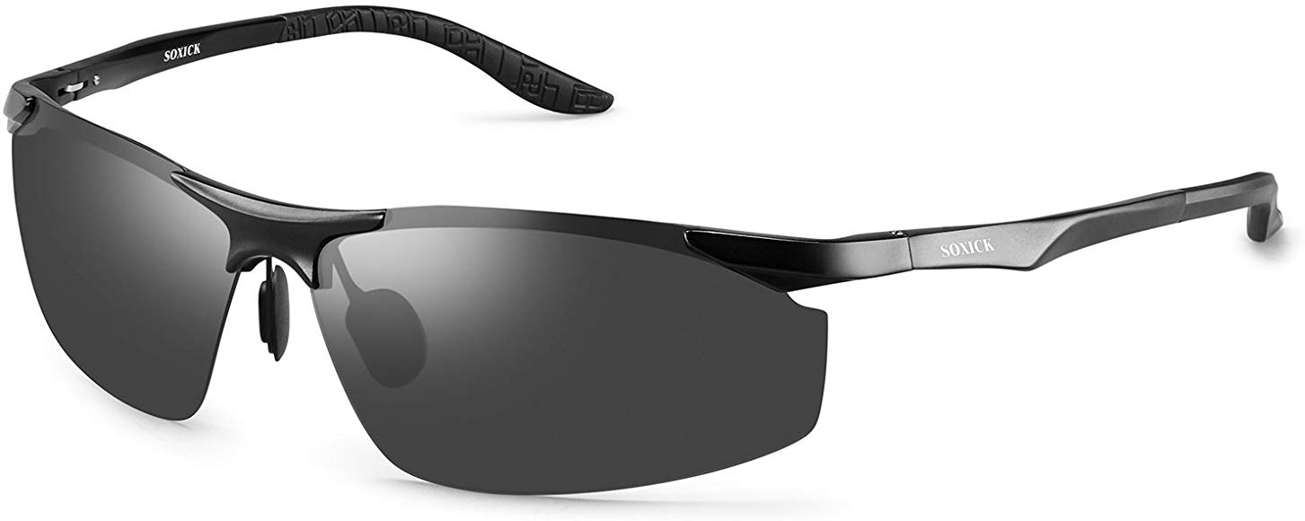 SOXICK Polarized Mens Womens Sunglasses,