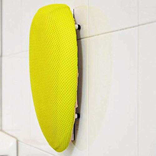 Squeechy - Exfoliating Hands Free Loofah Back Scrubber | Best Shower Back Scrubbers