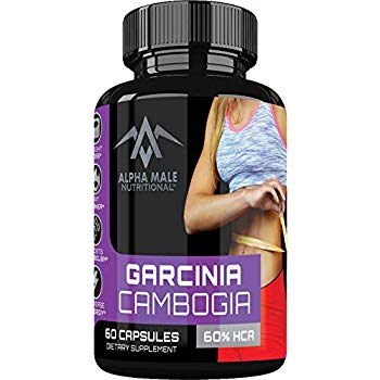 Alpha Male Pure Garcinia Cambogia Extract with Chromium  | Best Appetite suppressants