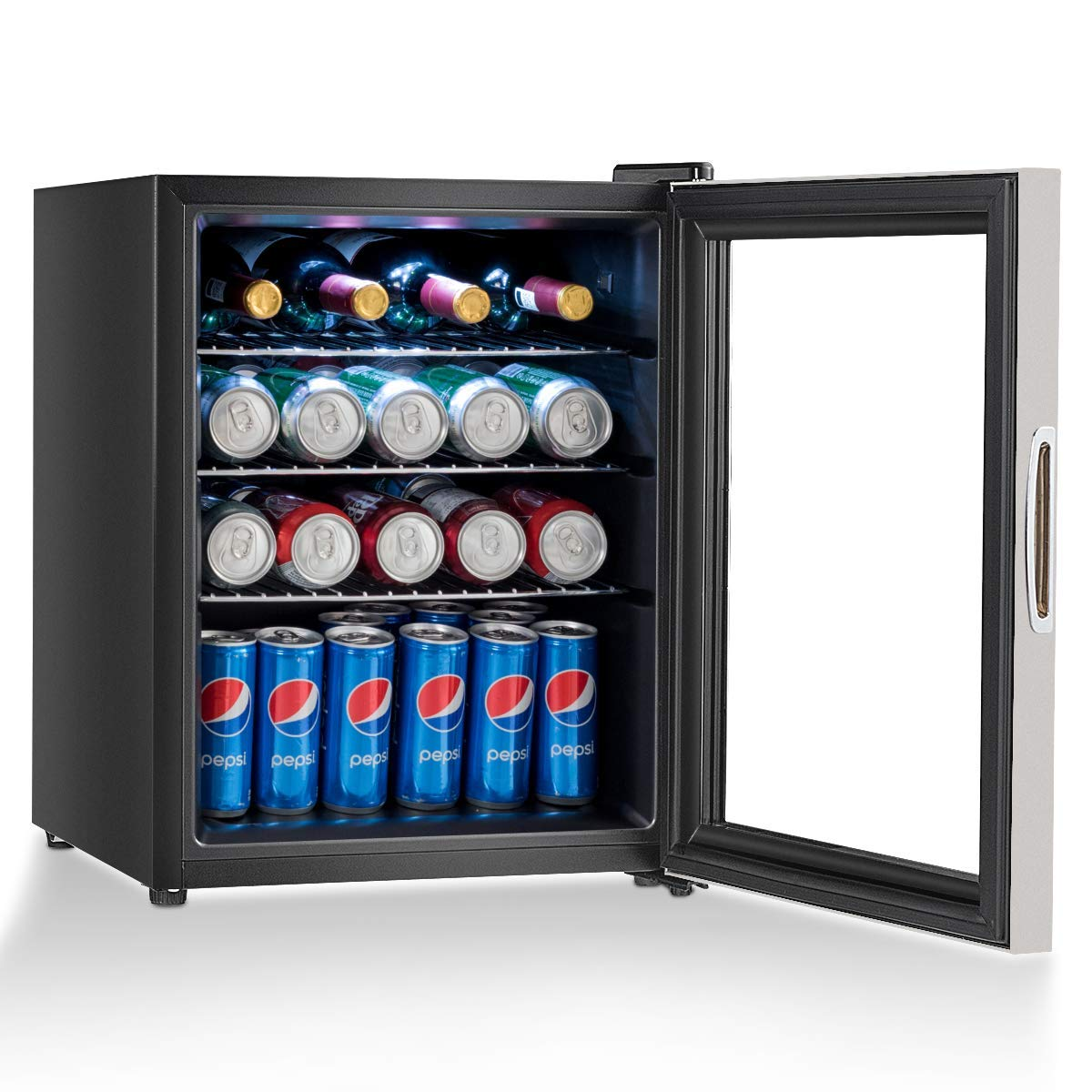 COSTWAY Beverage Refrigerator and Cooler