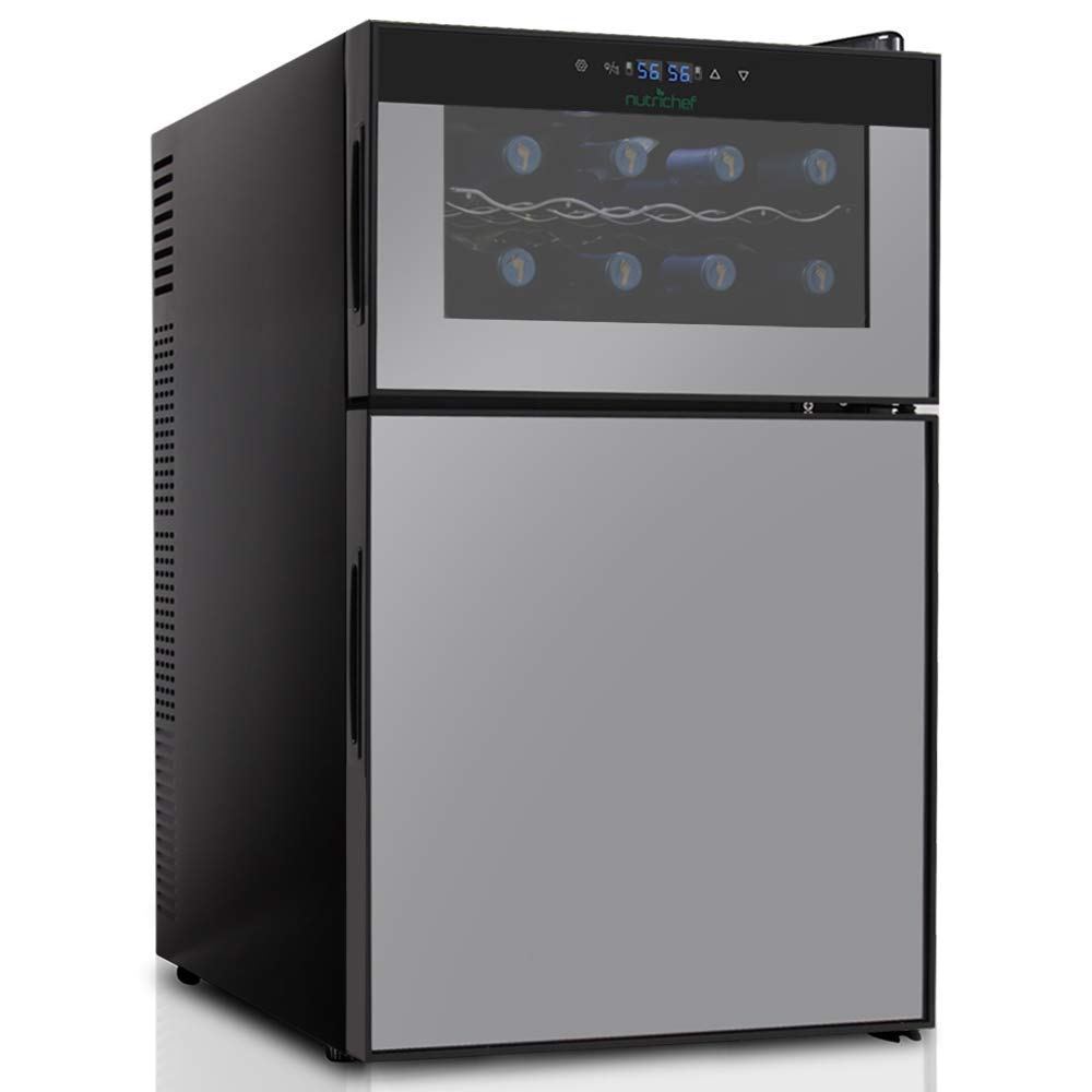 NutriChef PKTEWBC240 Wine Cooler and Mini Fridge