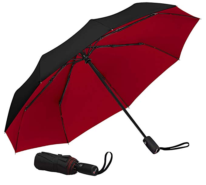 Repel Windproof Travel Umbrella with Teflon Coating (Multiple Colors Available) - best umbrellas