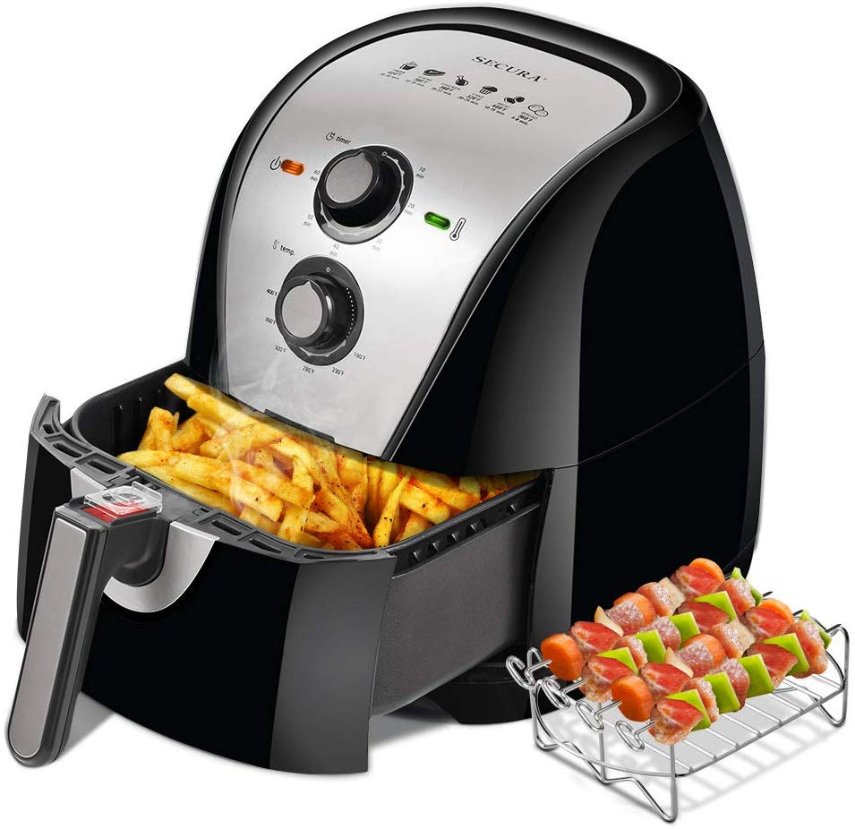 Secura Air Fryer 1700W Electric Hot Air Fryers