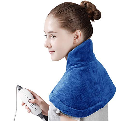 Tech Love Electric Heating Pad  | Best Neck and Shoulder Heating Pad
