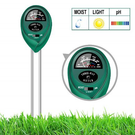 yoyomax Soil Test Kit pH | Best Moisture Meter For Plants