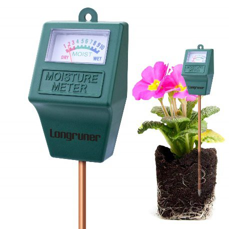 Moisture Meter, Longruner Indoor/Outdoor  | Best Moisture Meter For Plants