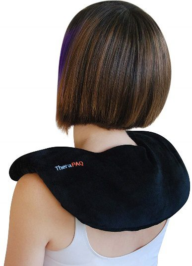 Neck Warmer Heating Pad by TheraPAQ | Best Neck and Shoulder Heating Pad