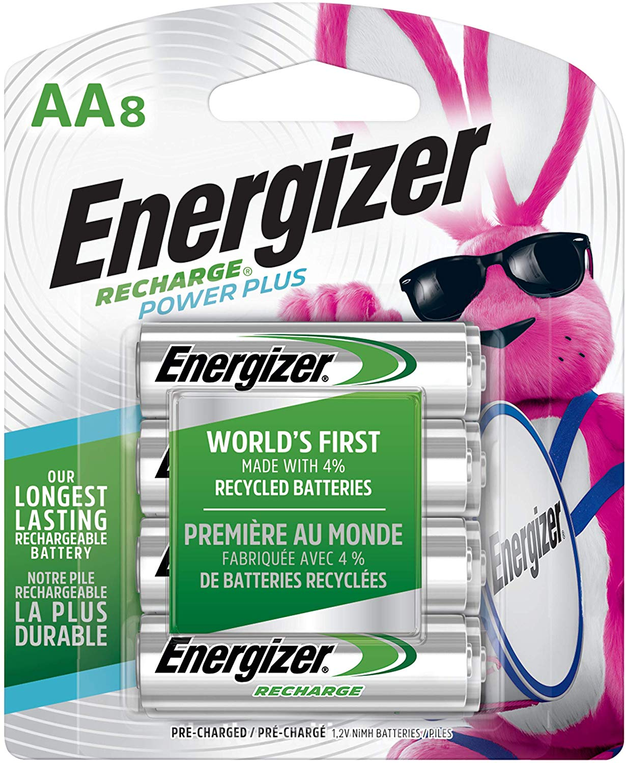 Energizer Rechargeable AA Batteries | Best Rechargeable AA Battery
