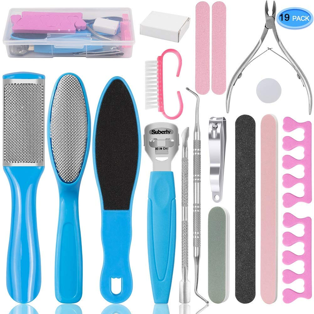 EAONE Professional Pedicure Tools Set 20 in 1 | Best Pedicure Kit