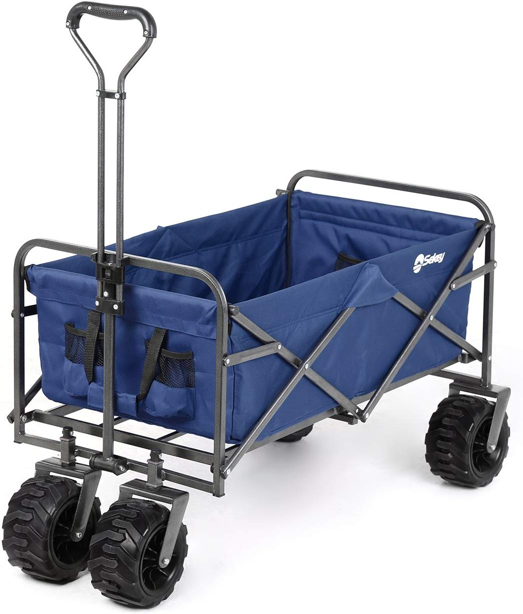Sekey Folding Wagon Cart  | Best Beach Carts