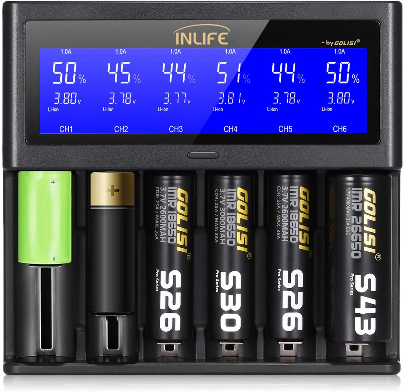 LCD Display Universal Battery Charger | Best Rechargeable AA Battery