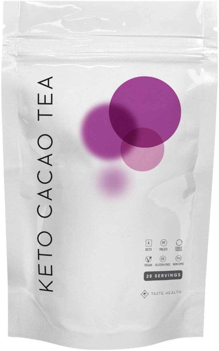 Keto Cacao Tea 28 Day Supply - Weight Loss Tea - Organic Detox & Cleanse Tea - Helps with Removing Toxins, Appetite Control & Digestion - 100% All Natural - Kosher and Keto Friendly - 28 Sachets