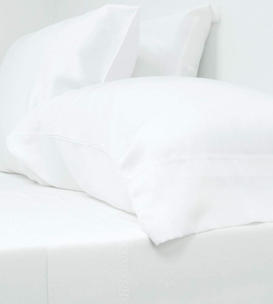 Cariloha Classic Bamboo Sheets 4 Piece Bed Sheet Set - Softest Bed Sheets and Pillowcases - 100% Viscose from Bamboo (Twin, White)