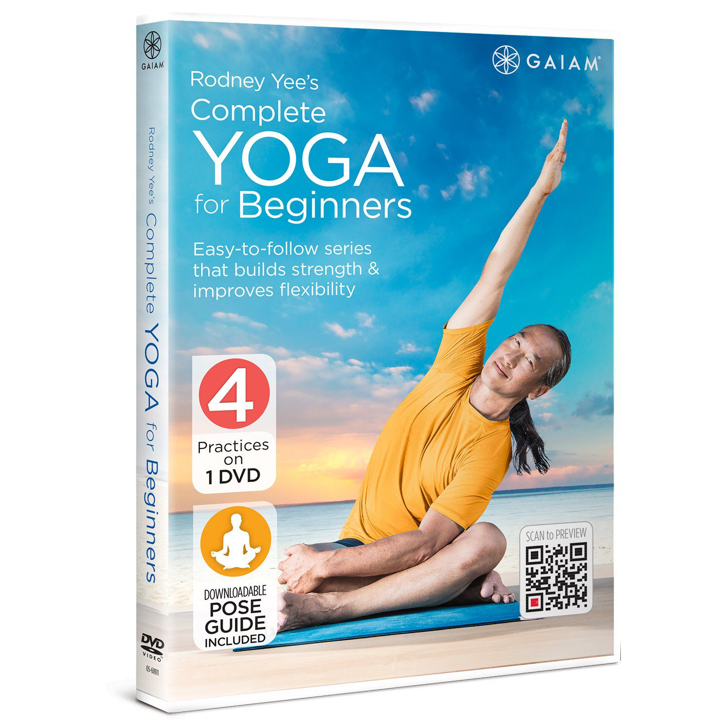 Rodney Yee's Complete Yoga for Beginners | Best Yoga for Beginners DVDs