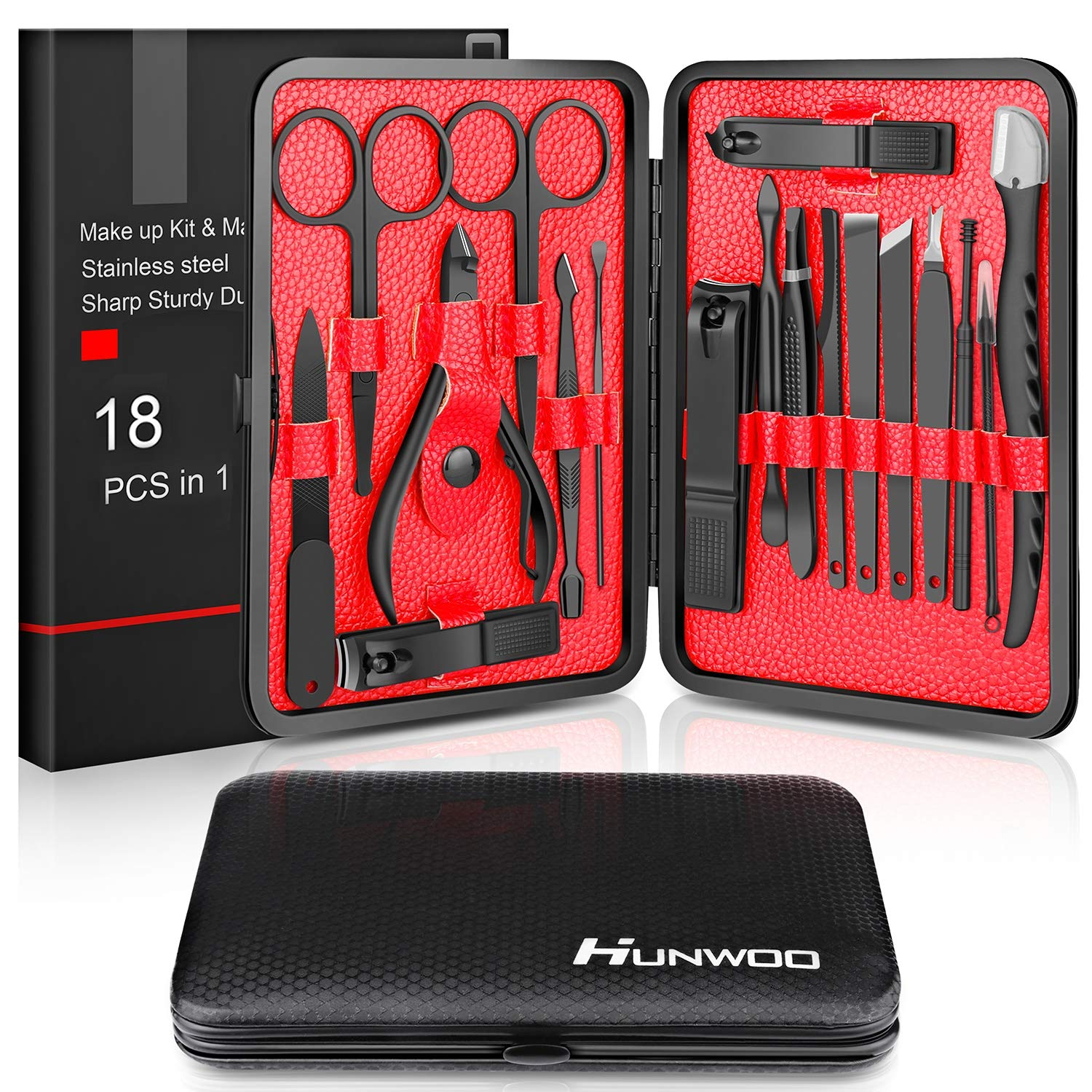 Updated 2020 Version Manicure Set-Hunwoo Nail Clippers | Best Pedicure Kit