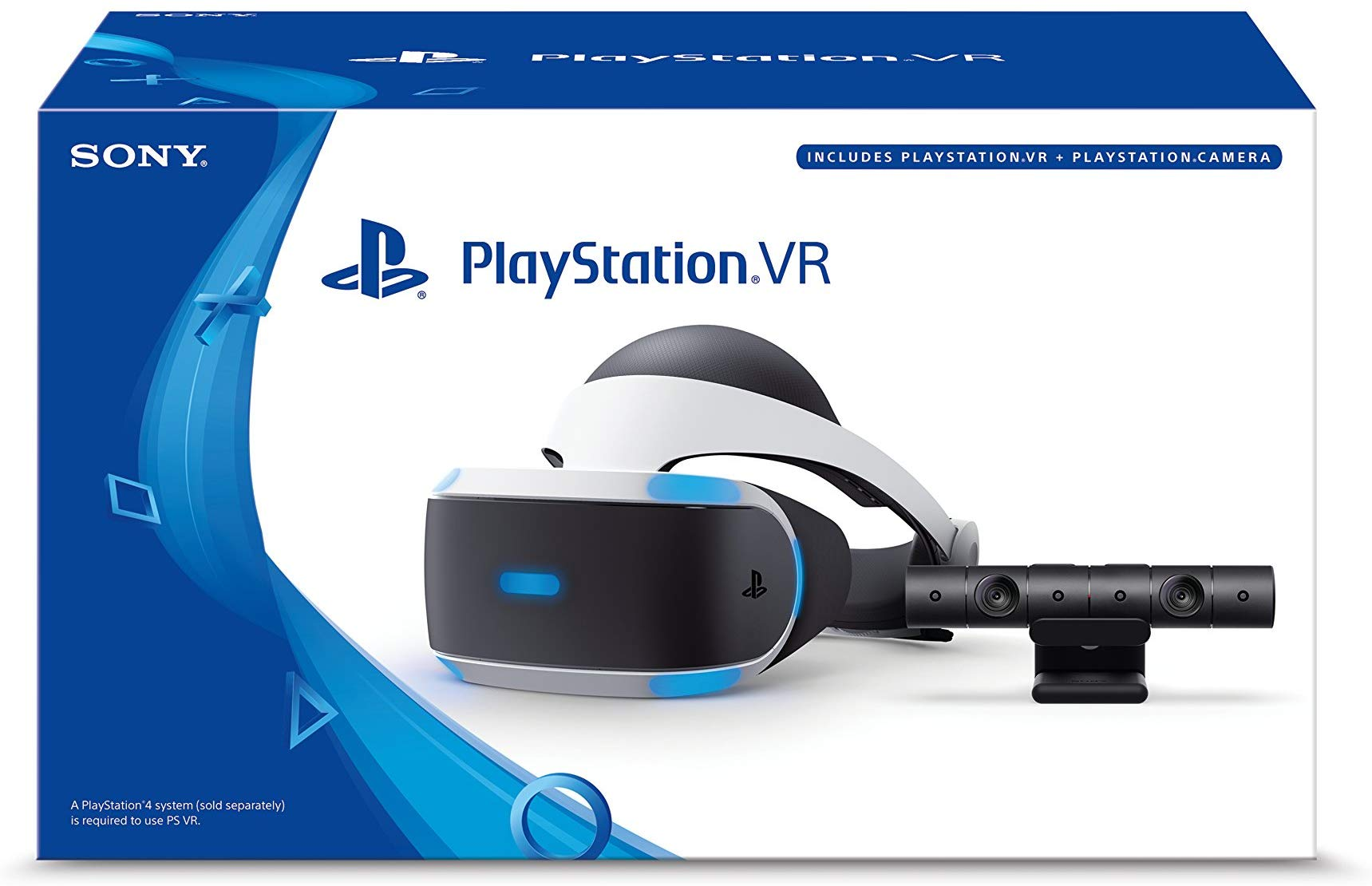 Image result for PlayStation VR Headset + Camera Bundle [Discontinued] by Playstation