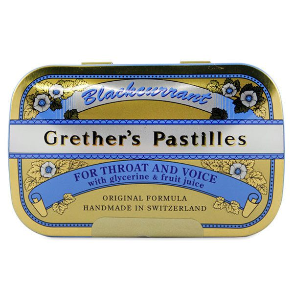 Grether's Pastilles for Throat and Voice