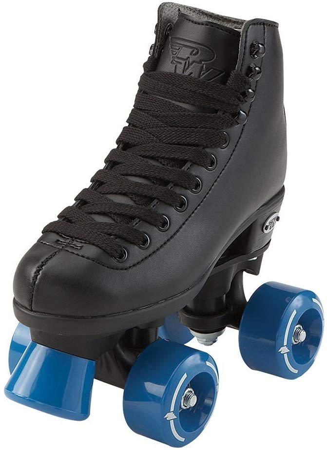 Riedell RW Skates - Wave - Kids Quad Roller Skates for Indoor/Outdoor