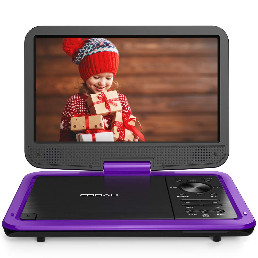 """COOAU 12.5"""" Portable DVD Player"""