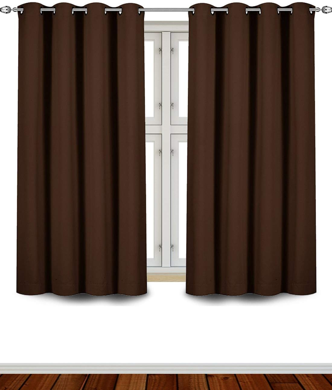 Utopia Bedding Blackout Room Darkening and Thermal Insulating Window Curtain