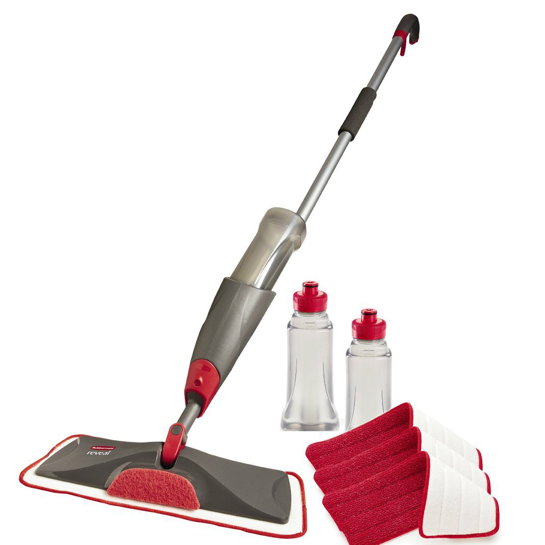 Rubbermaid Reveal Spray Mop Floor Cleaning Kit