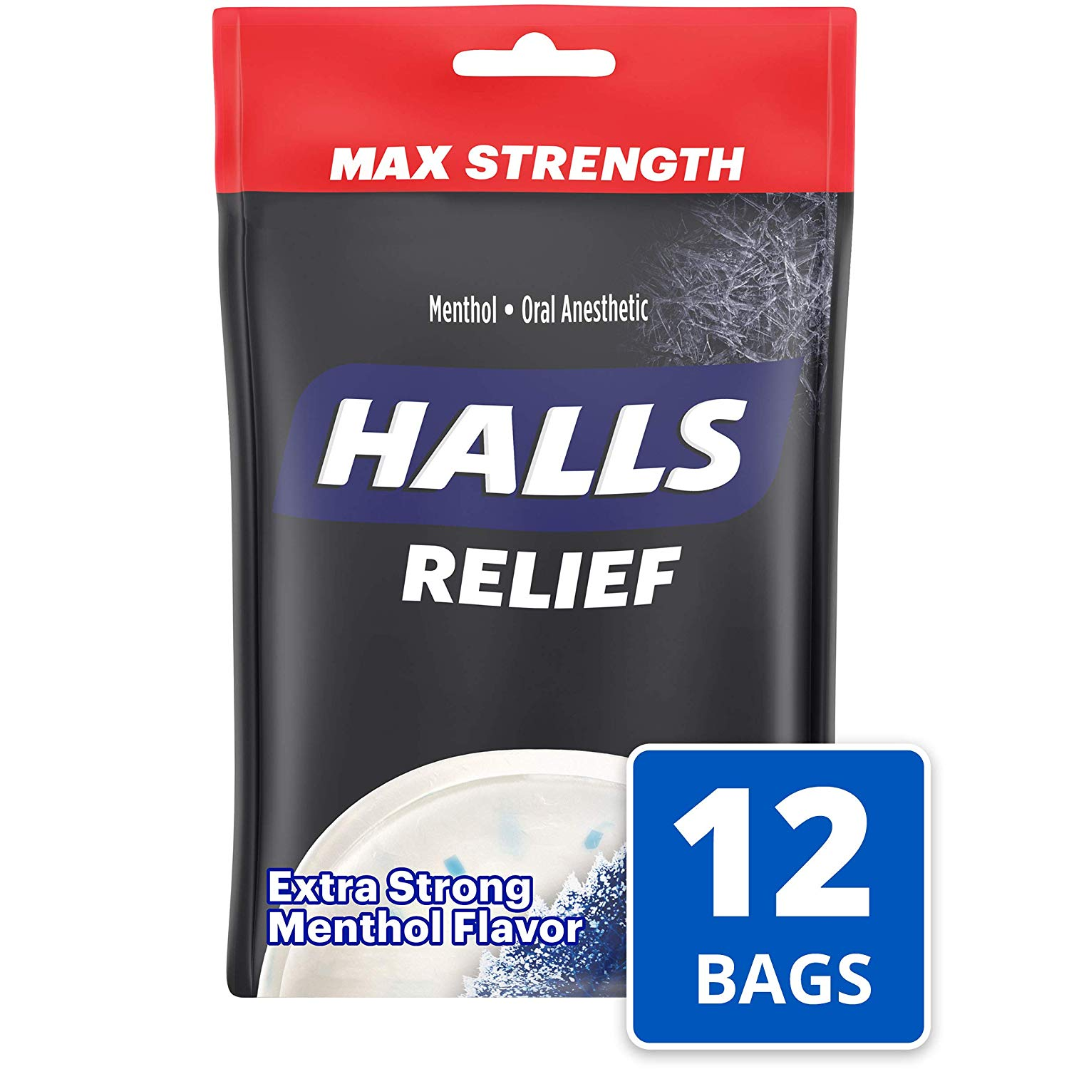 Halls Extra Strength Intense Cool Cough Drops