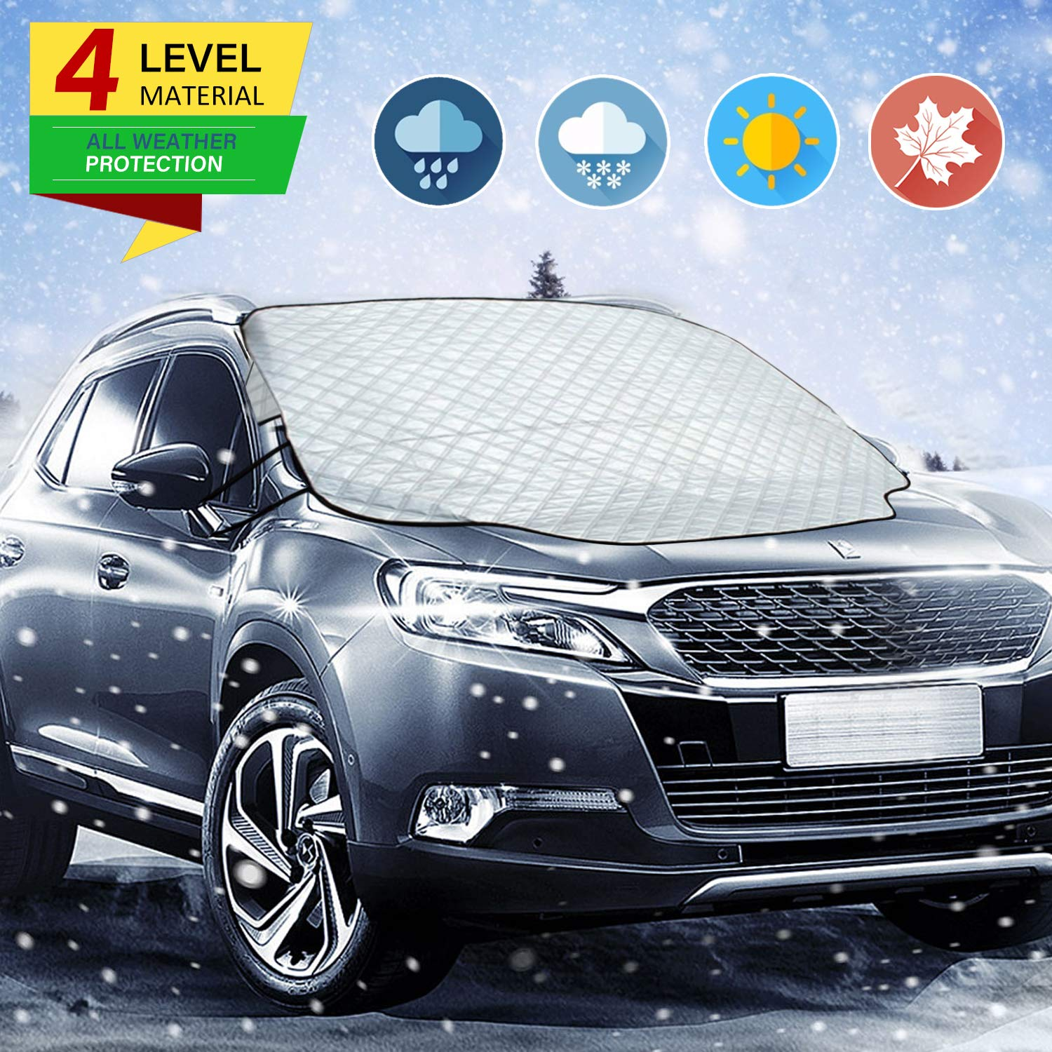 Zmoon Car Windshield Snow Cover