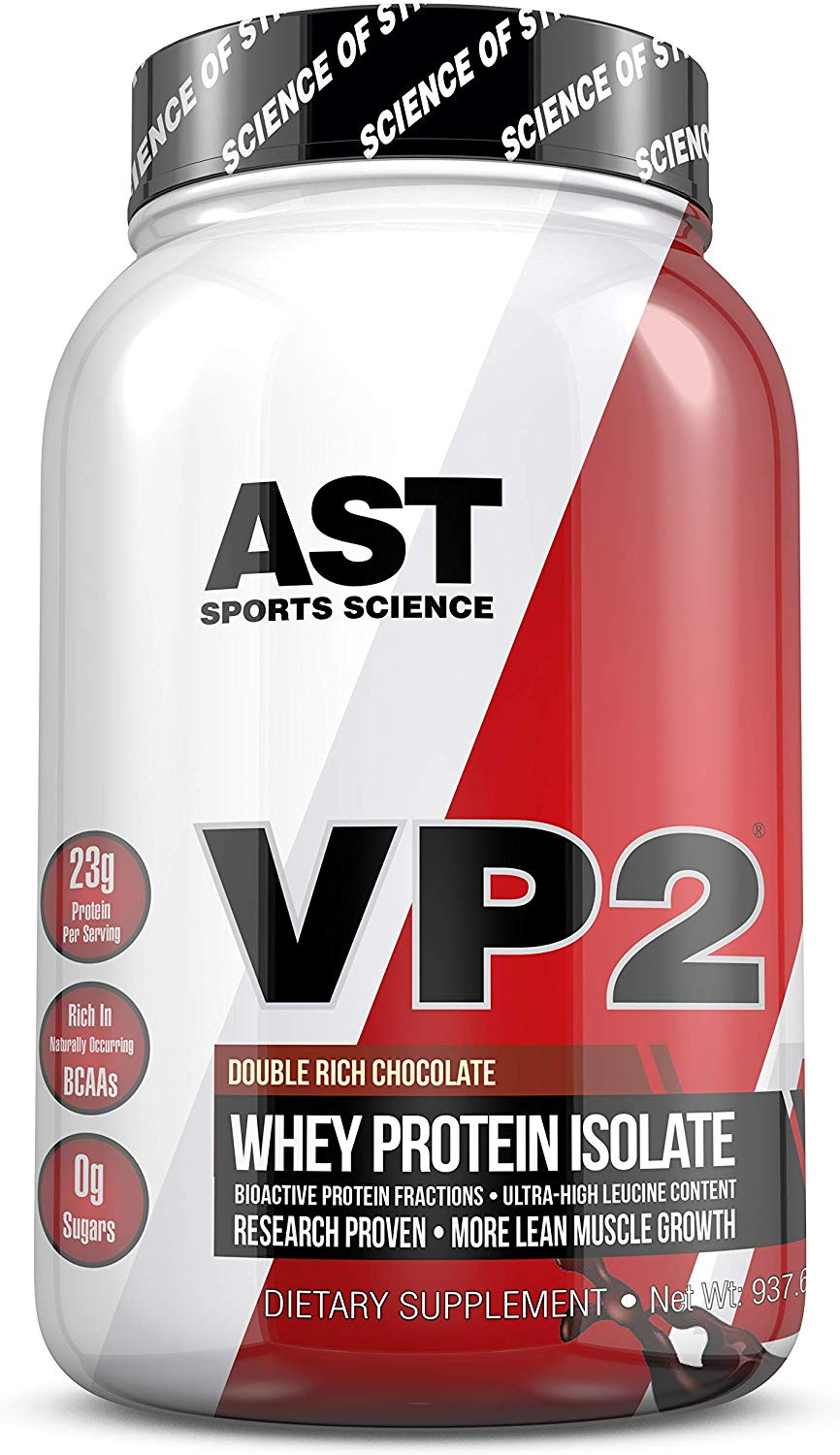 VP2 Whey Isolate (Double Rich Chocolate) - AST Sports Science - Science Backed Protein Formula
