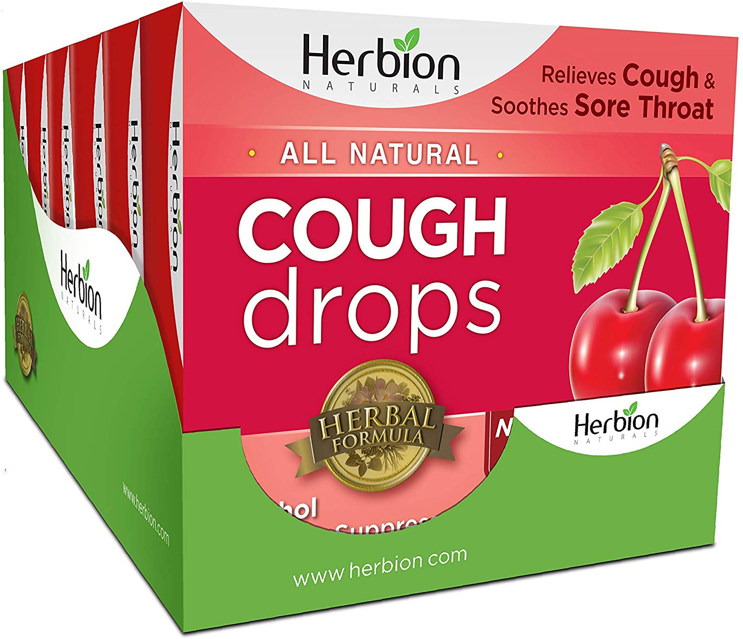 Herbion Naturals Herbal Cough Drops