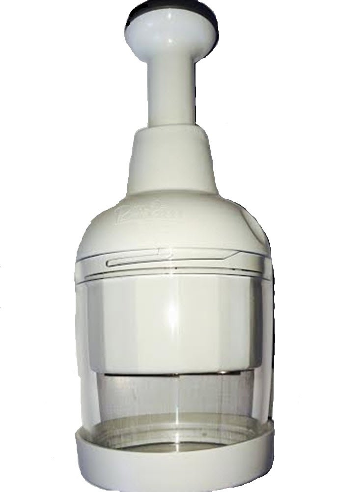 Pampered Chef Food Chopper (#2585)-White