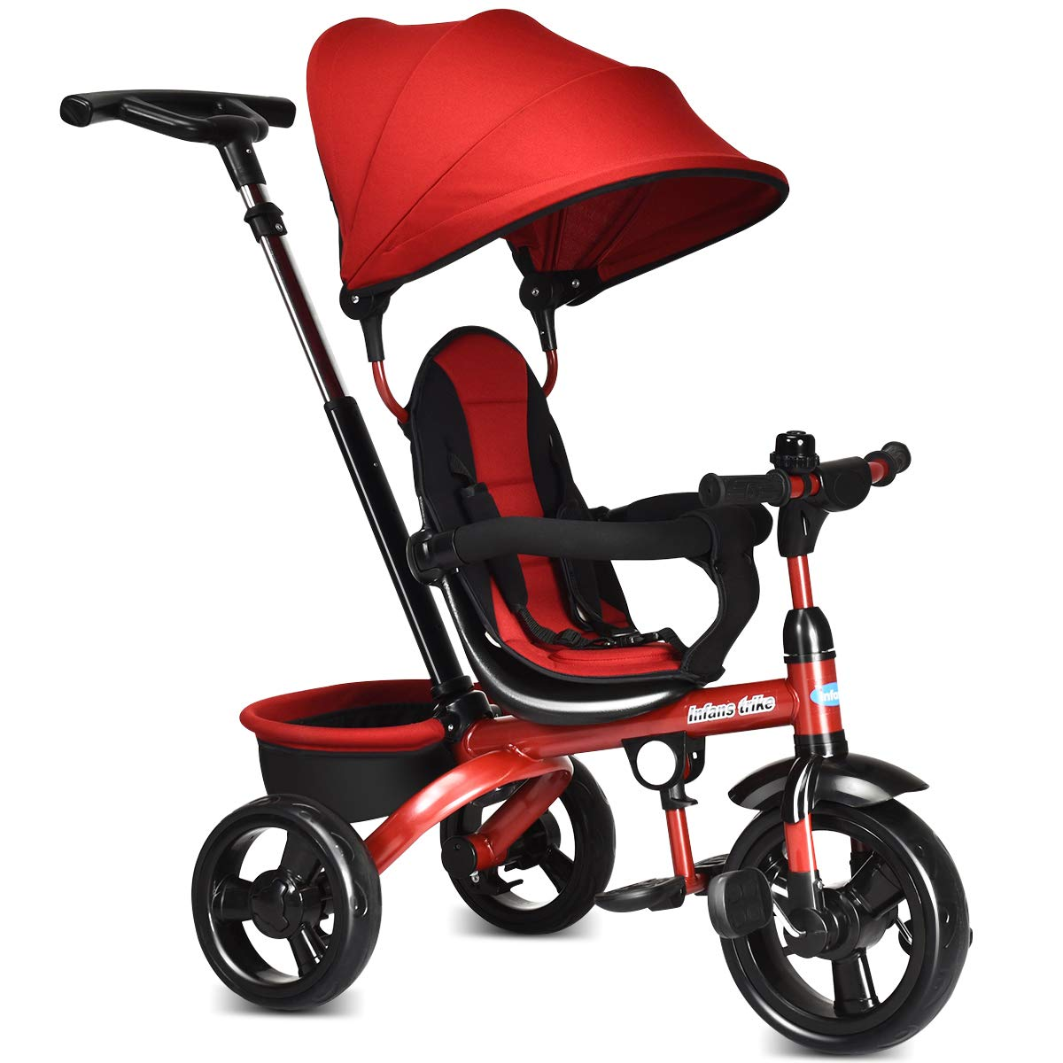 INFANTS Kids Tricycle, 4 in 1 Stroll Trike | Tricycles For Kid