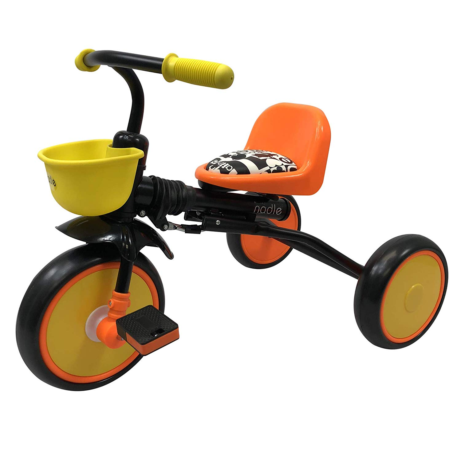 Nadle Orange Kids Trike for 3 Years Old | Tricycles For Kid