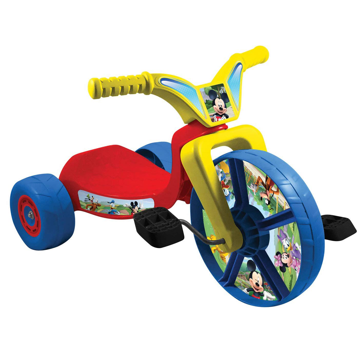 Mickey Mouse Fly Wheel Junior Cruiser Kids Tricycle 10 Inch Wheel | Tricycles For Kid