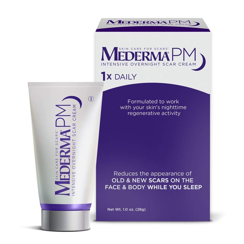 Mederma PM Intensive Overnight Scar Cream  Lotion For Scars
