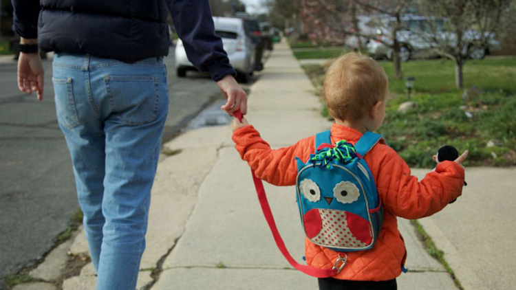 child leash backpack