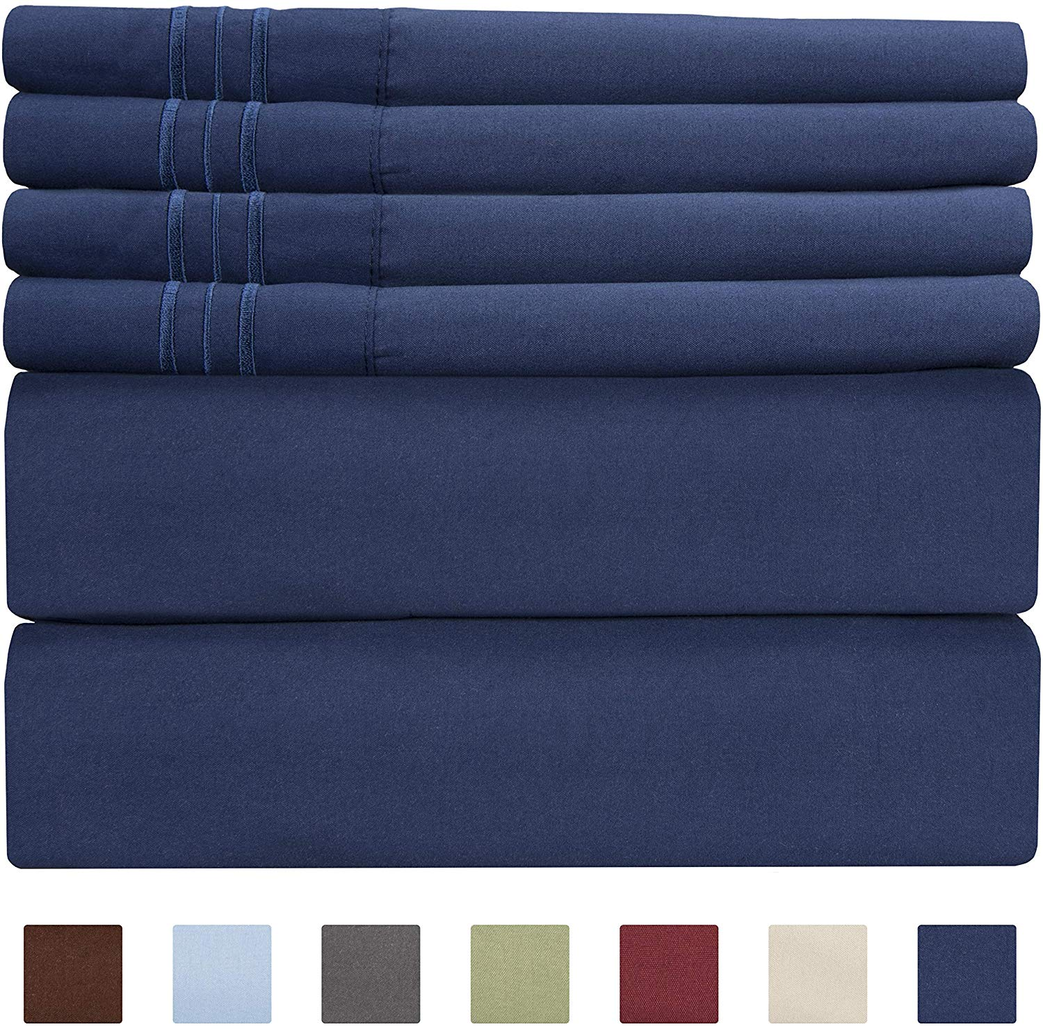 CGK Unlimited Queen Size Sheet Set | Softest Sheets