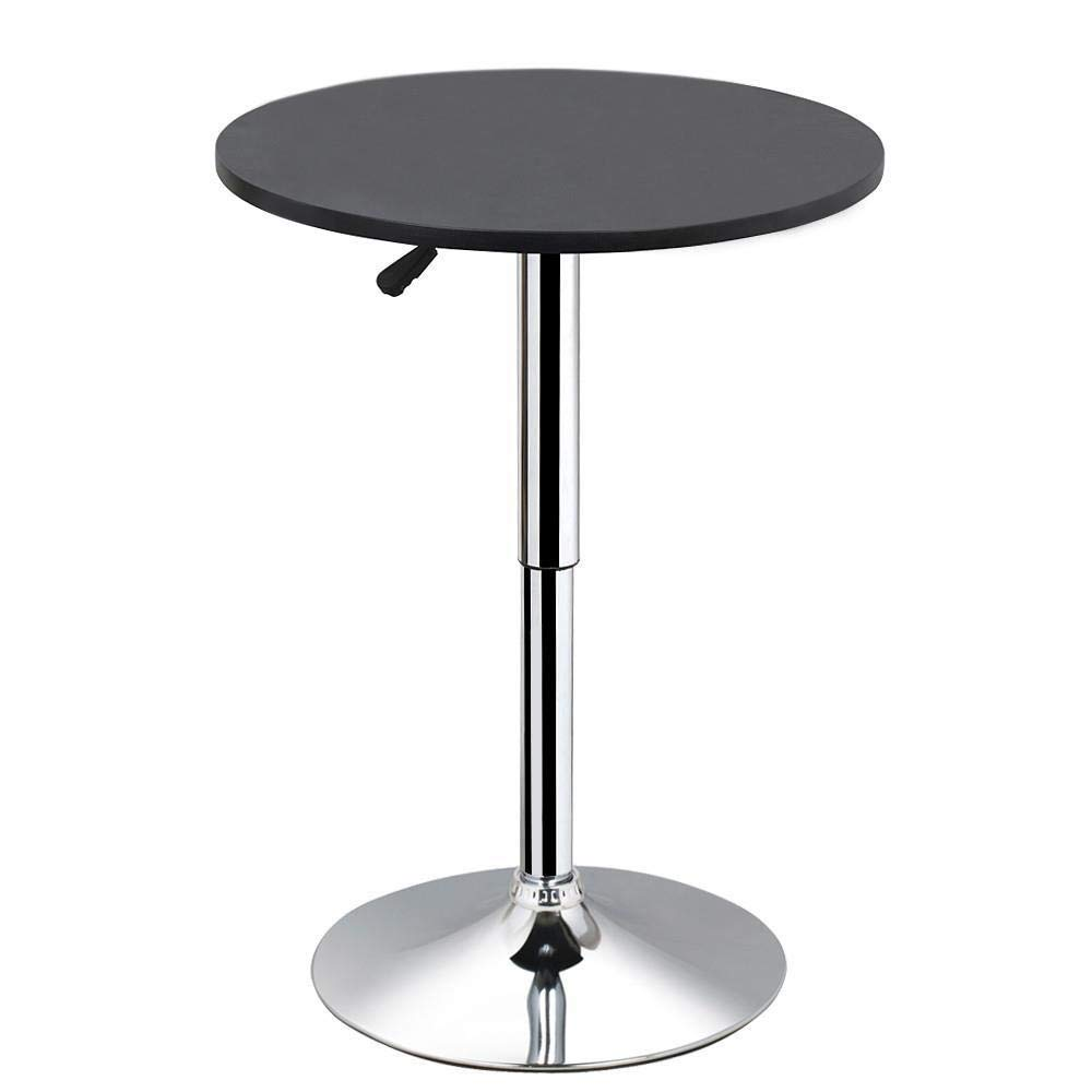 Yaheetech Round Pub Bar Table | Cocktail Tables