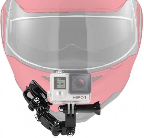 AxPower Motorcycle Helmet Chin Mount Kits for GoPro Hero