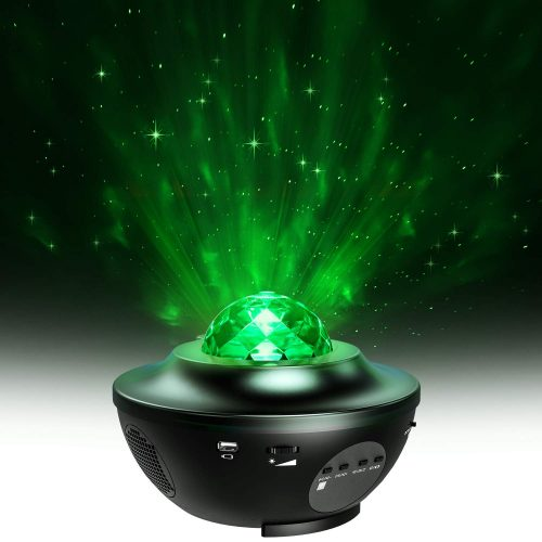 Star Projector, MiiKARE 2 in 1 Night Light Projector
