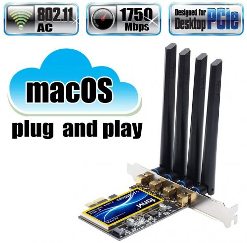 fenvi T919 for macOS PC PCI Wifi Card Continuity Handoff