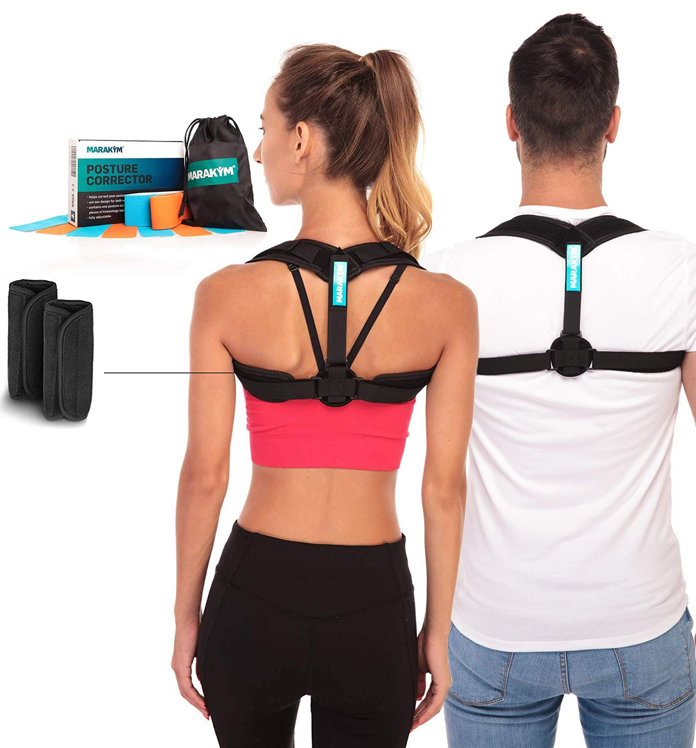 Posture corrector-adjustable clavicle