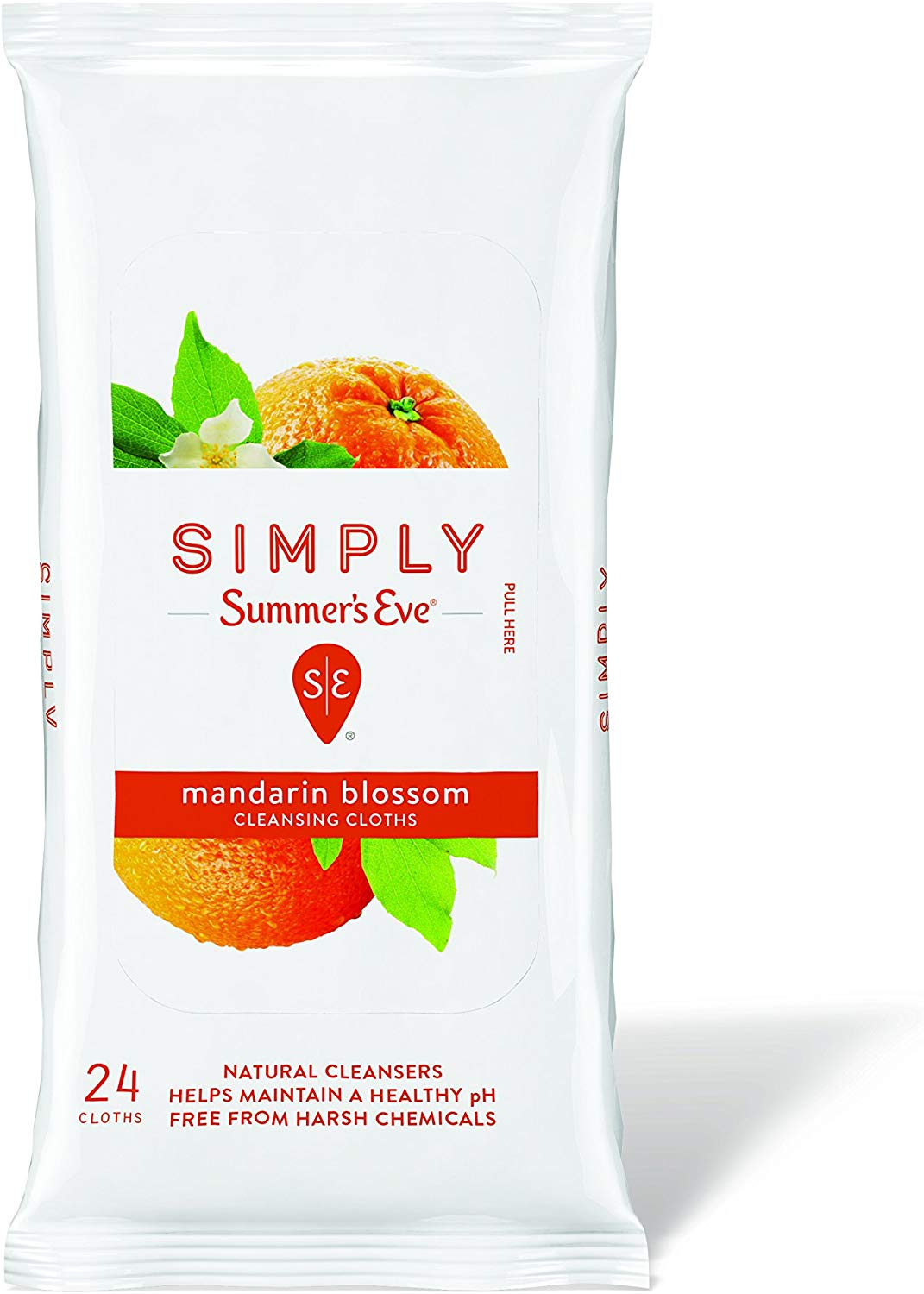 Simply Summer's Eve Cleansing Clothe