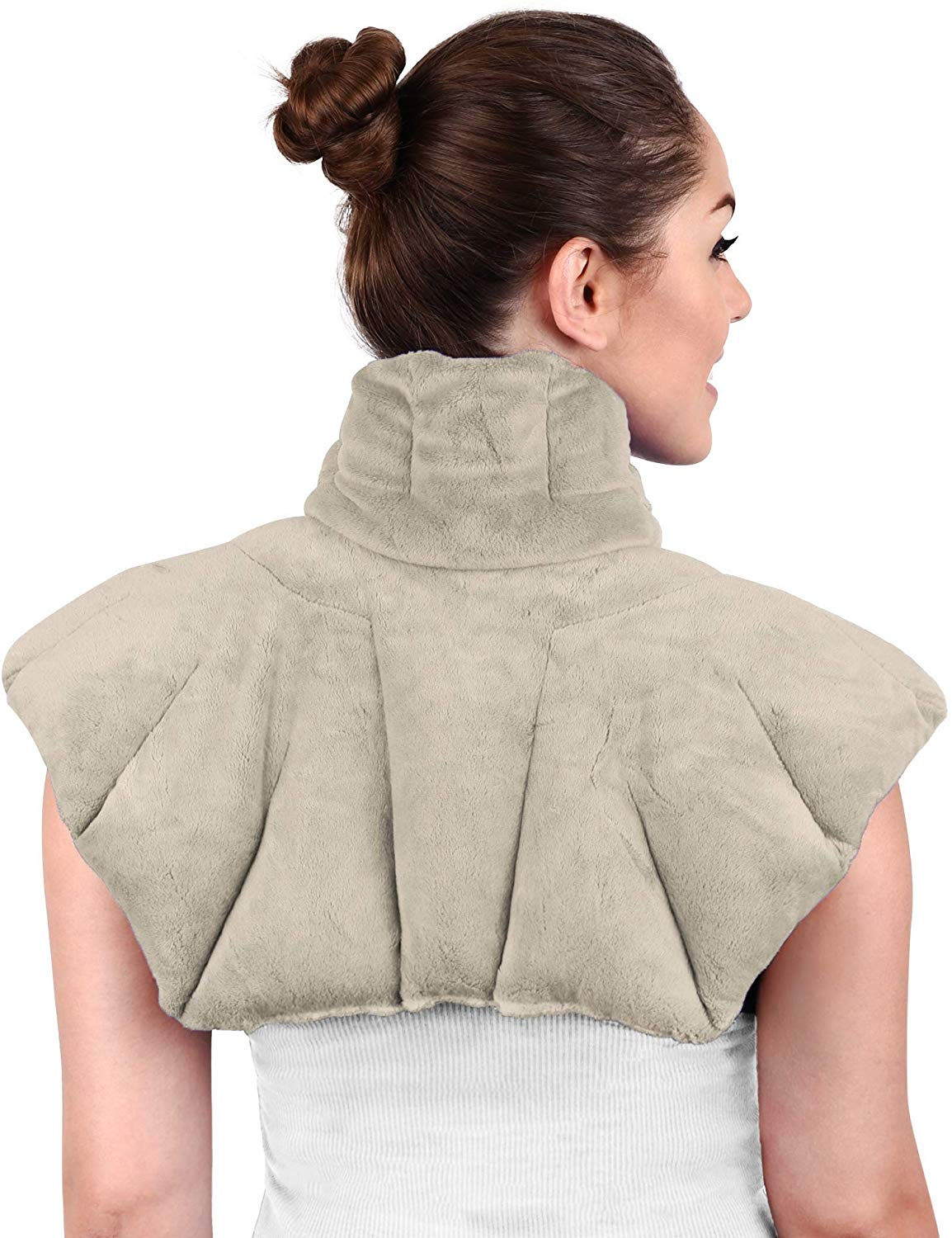 Large Microwavable Heating Pad for Neck and Shoulders