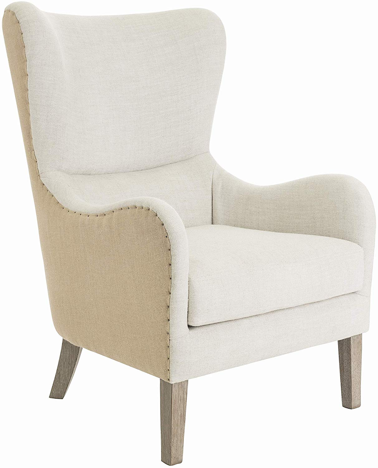 Elle Decor Mid-Century Modern Wingback Chair